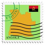 Mail To/from Angola Royalty Free Stock Images