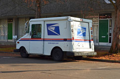 Mail truck. United States Postal Service delivery truck Royalty Free Stock Image