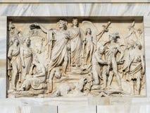 Mailand: ACRO-della Schritt Stockbild