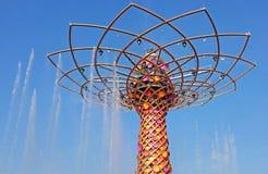 Mailand, Ausstellung 2015, Baum des Lebens Stockbilder