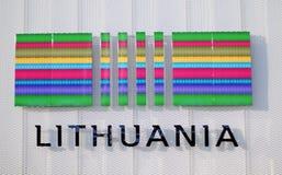 Mailand, Ausstellung 2015, Litauen Lizenzfreie Stockbilder