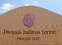 Mailand, Ausstellung 2015, Pavillon null Stockbilder