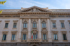 mailand Commercial Bank von Italien Die Fassade des Gebäudes Lizenzfreies Stockfoto