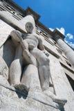Mailand - das Borsa Italiana im Geschäfts-Quadrat Stockfotos