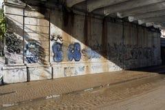 Mailand die fiume Seveso-Flut Stockfotografie