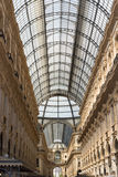 Mailand-Einkaufszentrenlichtdecke Lizenzfreies Stockfoto