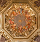 Mailand - Fresko von Cappella Portinari Stockfotos