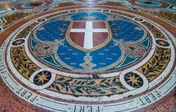 Mailand-Galleria Vittorio Emanuele II Stockbild