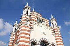 Mailand - hervorragender Kirchhof Stockbilder