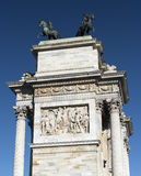 Mailand (Italien): ACRO-della Schritt Stockfotos