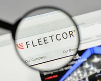 Mailand, Italien - 10. August 2017: Flotten-Cor Technologies-Logo auf t Stockbild