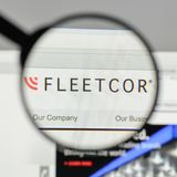 Mailand, Italien - 10. August 2017: Flotten-Cor Technologies-Logo auf t Stockfotos