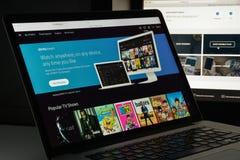 Mailand, Italien - 10. August 2017: Xfinity-Websitehomepage Es ist Lizenzfreies Stockfoto