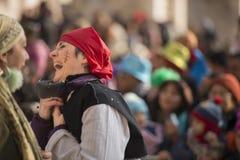 In der Parade lachen, Mailand Stockfoto