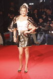 MAILAND, ITALIEN - 2. MÄRZ: Kate Hudson nimmt an der extremen Schönheit in der Mode-Partei am Palazzina della Ragione während Mail Lizenzfreie Stockbilder