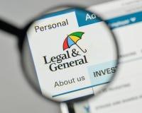 Mailand, Italien - 1. November 2017: Legales u. Generals Group Logo auf t Stockfoto