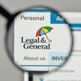 Mailand, Italien - 1. November 2017: Legales u. Generals Group Logo auf t Stockfotos