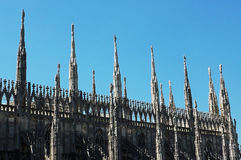 Mailand-Kathedrale (Haube, Duomo) Stockbilder