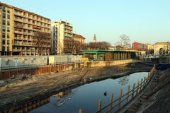 Mailand, Mailand, La Darsena Lizenzfreies Stockfoto