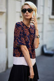 Mailand-Modewoche Stockbild