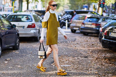 Mailand-Modewoche Stockfoto