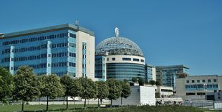 Mailand, San Raffaelo Hospital Stockfotografie