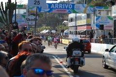 Mailand-Sanremo Schleife-Rennen 2009 lizenzfreie stockfotografie