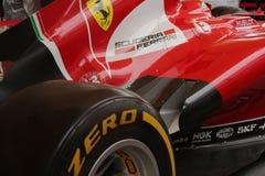 MAILAND - 19. SEPTEMBER 2015: Ferrari-Pavillon, Weltausstellung Ausstellung 2015 Lizenzfreie Stockfotos