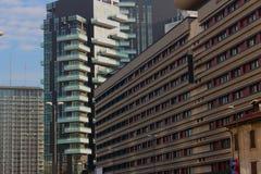 Mailand-Stadt Stockfotografie