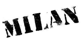 Mailand-Stempelgummischmutz Stockbilder
