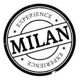 Mailand-Stempelgummischmutz Lizenzfreie Stockbilder