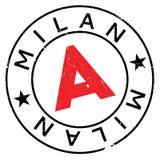 Mailand-Stempelgummischmutz Lizenzfreies Stockbild