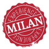 Mailand-Stempelgummischmutz Lizenzfreie Stockfotos
