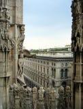 Mailand von der Oberseite Lizenzfreies Stockbild