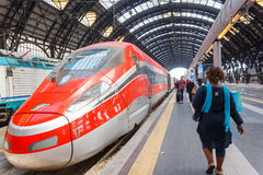 Mailand-zentraler Bahnhof Lizenzfreie Stockfotos