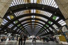 Mailand, zentraler Stationszug Lizenzfreies Stockfoto