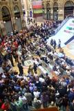 MailandGalleria während der Art- und Weisewoche Lizenzfreie Stockfotos
