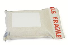 проложенный mailbag Стоковые Фото