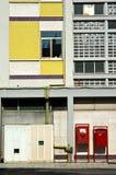 mailbloxes красные Стоковая Фотография RF