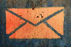 Mailbox 1 stock image