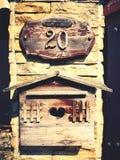 mailbox fotos de stock