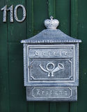 Mailbox. This mailbox i found it in small saxon village in Stock Photos