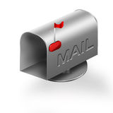 Mailbox. Illustration on a white background Stock Images