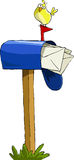 Mailbox royalty free illustration