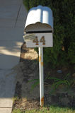 Mailbox. Private mail box, Perth city, Western Australia Royalty Free Stock Photo