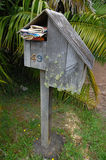 Mailbox. Private mail box, Waiheke Island, New Zeakand Royalty Free Stock Image
