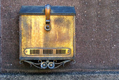 Mailbox. Old cooper mailbox stock images