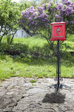 Mailbox. Original mailbox on a nice court in hungary stock photography