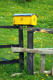 Mailbox. Rustic mail box Royalty Free Stock Photography
