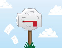 Mailbox Stuffed Stock Images